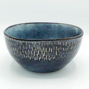 Meritage Blue Stoneware Small Serving Bowl